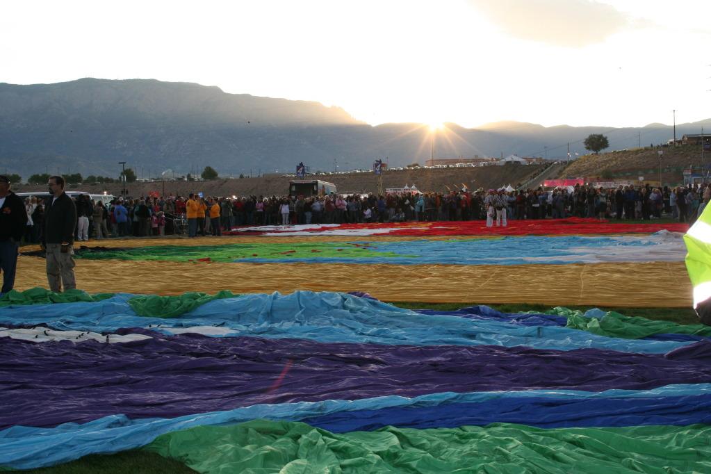 Albuquerque Balloon Fiesta and The Warming House
